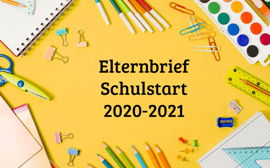 Elternbrief Schulstart 2020-2021