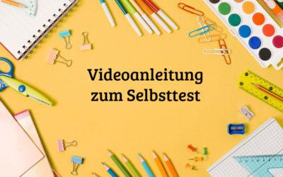 videoanleitung selbsttest 400x250 - Willkommen